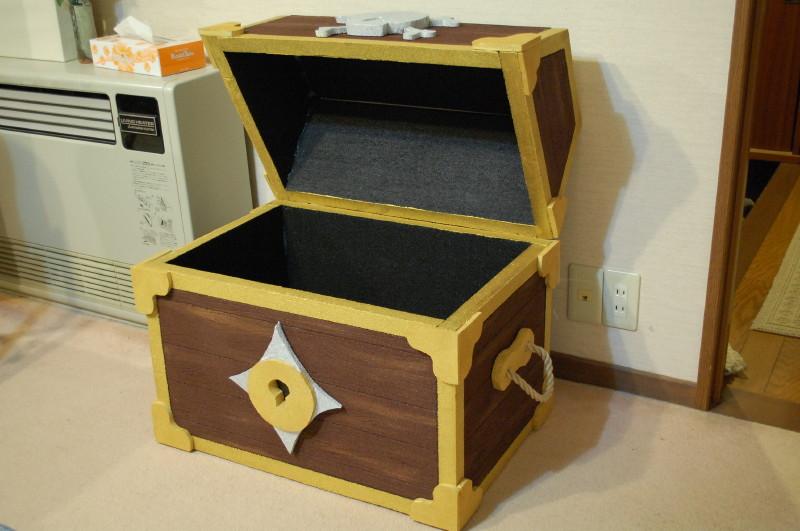 Пиратский сундук из коробки