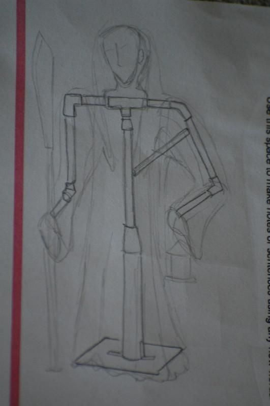 Grim Reaper prop template